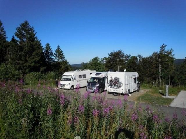 Aires de service et de stationnement camping car