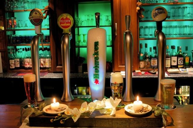 Bars and casino