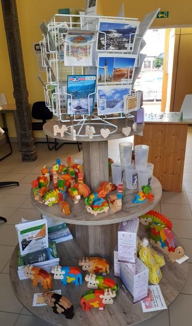 Espace Boutique à l'Office de Tourisme de Bussang