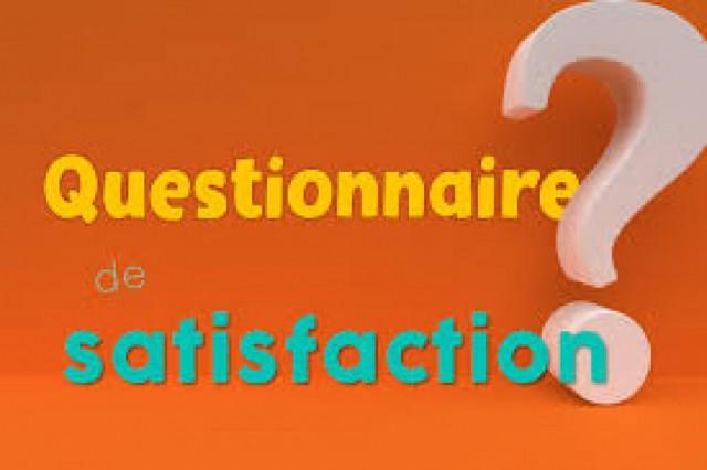 Questionnaire de satisfaction prestataires