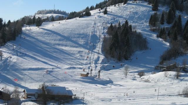 Familienfreundliche Skistation Larcenaire in Bussang