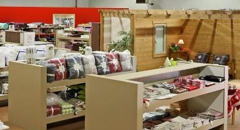 Textile factory shops