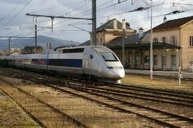 Par le train