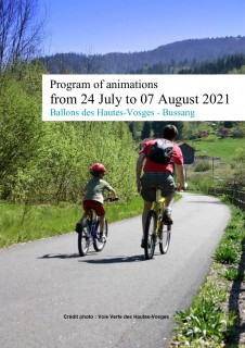Program of animations from 24 July to 07 August 2021