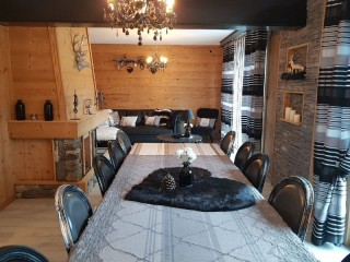 Individual Chalet Le Bo Spa For 8 Persons Bussang
